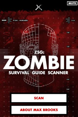 Zombie Survival Guide Scanner App